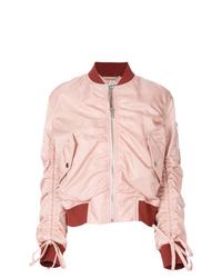Cazadora de aviador rosada de Kenzo