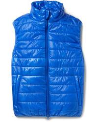Chaleco de abrigo acolchado azul