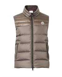 Chaleco de abrigo acolchado gris