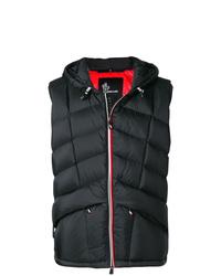 Chaleco de abrigo acolchado negro de MONCLER GRENOBLE
