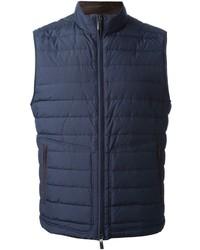 Chaleco de abrigo azul marino