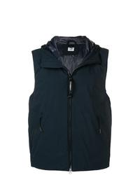 Chaleco de abrigo azul marino de CP Company