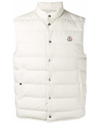 Chaleco de abrigo blanco