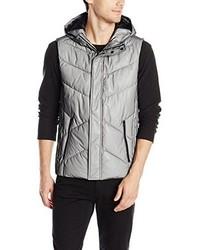 Chaleco de abrigo gris de Calvin Klein