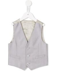 Chaleco de abrigo gris de Dolce & Gabbana