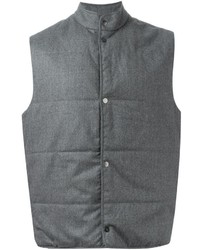 Chaleco de abrigo gris de Paul Smith