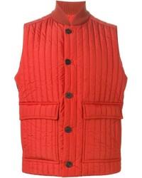 Chaleco de abrigo naranja de Canali