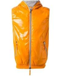 Chaleco de abrigo naranja de Duvetica