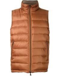 Chaleco de abrigo naranja de Herno