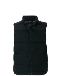 Chaleco de abrigo negro de rag & bone