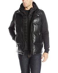Chaleco de abrigo negro de Sean John