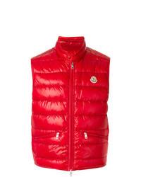 Chaleco de abrigo rojo