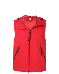 Chaleco de abrigo rojo de CP Company