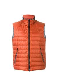 Chaleco de abrigo rojo de Fay