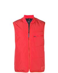 Chaleco de abrigo rojo de PS Paul Smith