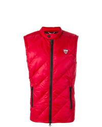 Chaleco de abrigo rojo de Rossignol