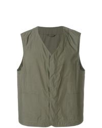 Chaleco de abrigo verde oliva de Tonello Cs
