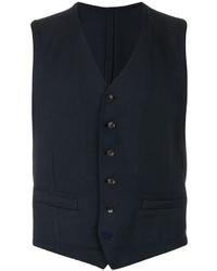 Chaleco de vestir azul marino original 655758