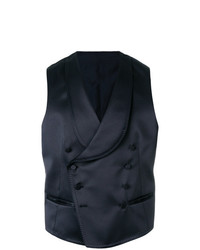 Chaleco de vestir azul marino de Tagliatore