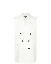 Chaleco de vestir blanco de Ann Demeulemeester