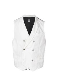 Chaleco de vestir blanco de Eleventy
