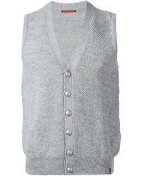 Chaleco de vestir de lana gris de Jacob Cohen