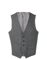 Chaleco de vestir en gris oscuro de BOSS HUGO BOSS