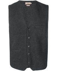 Chaleco de Vestir Gris Oscuro de Hackett