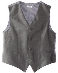 Chaleco de vestir gris de Calvin Klein