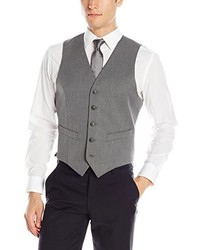Chaleco de vestir gris de Haggar
