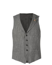 Chaleco de vestir gris de Lardini