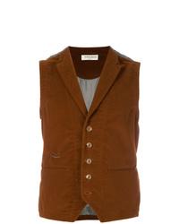Chaleco de vestir marrón de Al Duca D'Aosta 1902