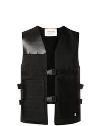 Chaleco de vestir negro de 1017 Alyx 9Sm