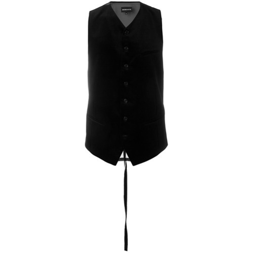 Negro Ann 12 527farfetch De Chaleco Vestir Demeulemeestermex