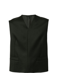 Chaleco de vestir negro de Cerruti 1881