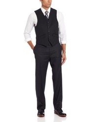 Chaleco de vestir negro de Haggar