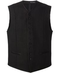 Chaleco de vestir negro de Isabel Benenato
