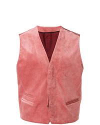 Chaleco de vestir rosado de Haider Ackermann