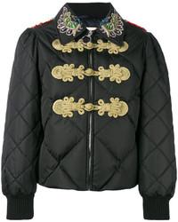 Chaqueta con Adornos Negra de Gucci