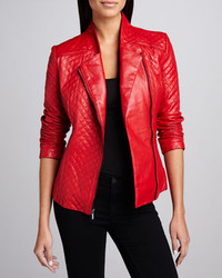 Comprar chaqueta piel roja