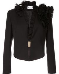 Chaqueta de lana negra de Lanvin