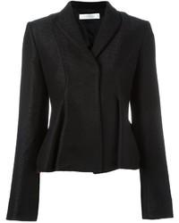 Chaqueta de lana negra de Victoria Beckham