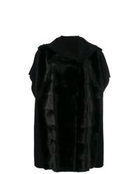 Chaqueta de piel negra de Liska