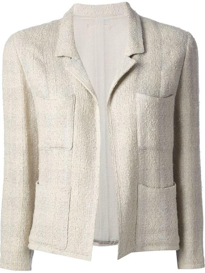 código promocional d047b 08773 Chaqueta de tweed en beige de Chanel
