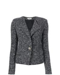 Chaqueta de tweed en gris oscuro de Isabel Marant Etoile