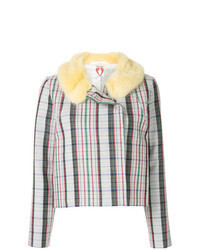 Chaqueta de tweed en multicolor