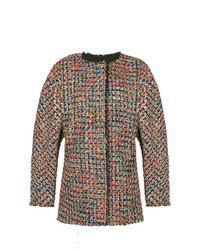 Chaqueta de tweed en multicolor de Bambah