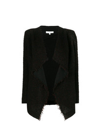 Chaqueta de tweed negra de IRO