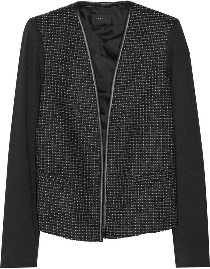 Combinar chaqueta tweed negra