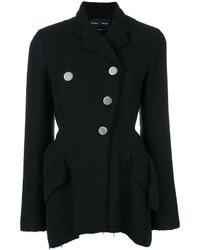 Chaqueta de tweed negra de Proenza Schouler